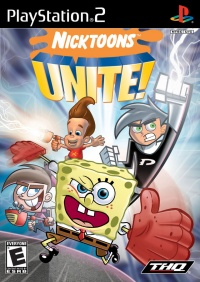 Nicktoons Unite! PlayStation 2
