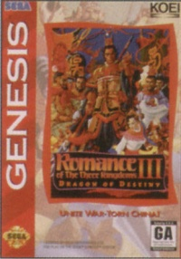 Romance of the Three Kingdoms III
