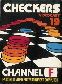 Videocart 19: Checkers