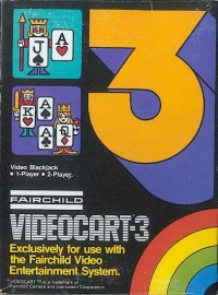 Videocart 3: Video Blackjack