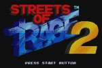 Streets of Rage 2 (Wii)