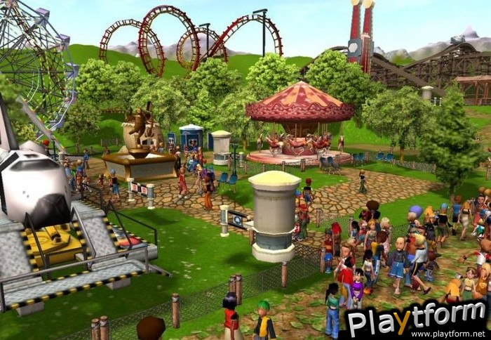 Download RollerCoaster Tycoon 3 - latest version