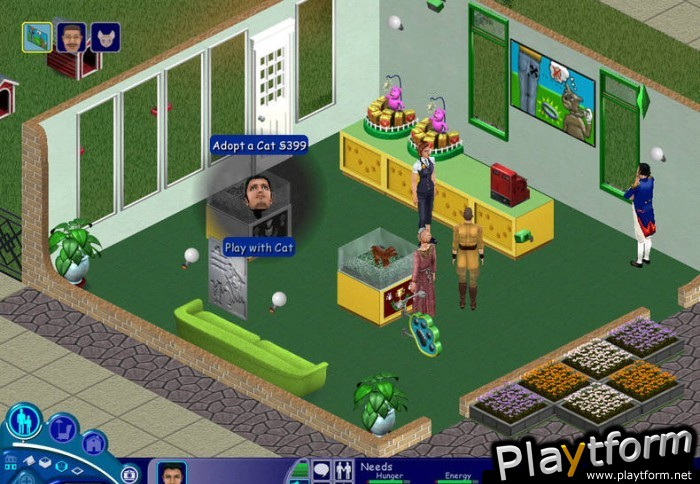 Sims Unleashed Игру