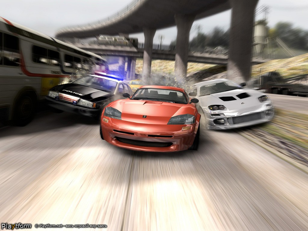 Burnout 2: Point of Impact (PlayStation 2)